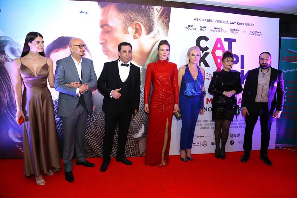 "The grand Gala evening of film ""Çat Kapı aşk"" • CinemaPlus"